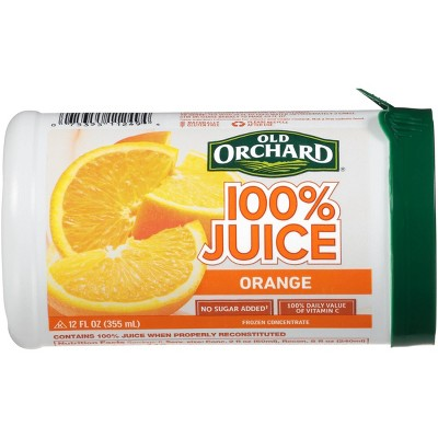 Old Orchard Frozen 100% Orange Juice - 12oz