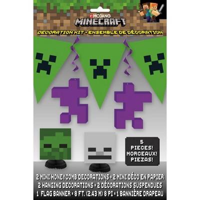 Minecraft 5pc Decoration Kit