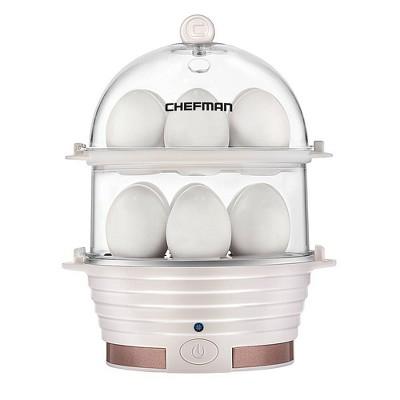 Chefman Double Decker Electric Egg Cooker - Ivory