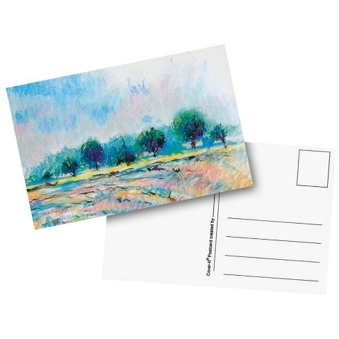 Cover-It Heavy Weight Blank Postcard, 4 x 6 Inches, White, pk of 50 - image 1 of 1