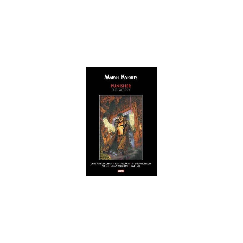 Marvel Knights Punisher : Purgatory - by Christopher Golden & Tom Sniegoski (Paperback)