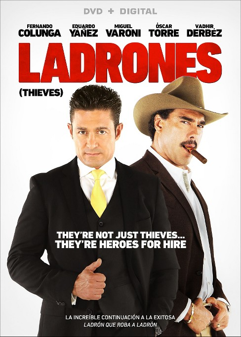 Ladrones (dvd_video) - image 1 of 1