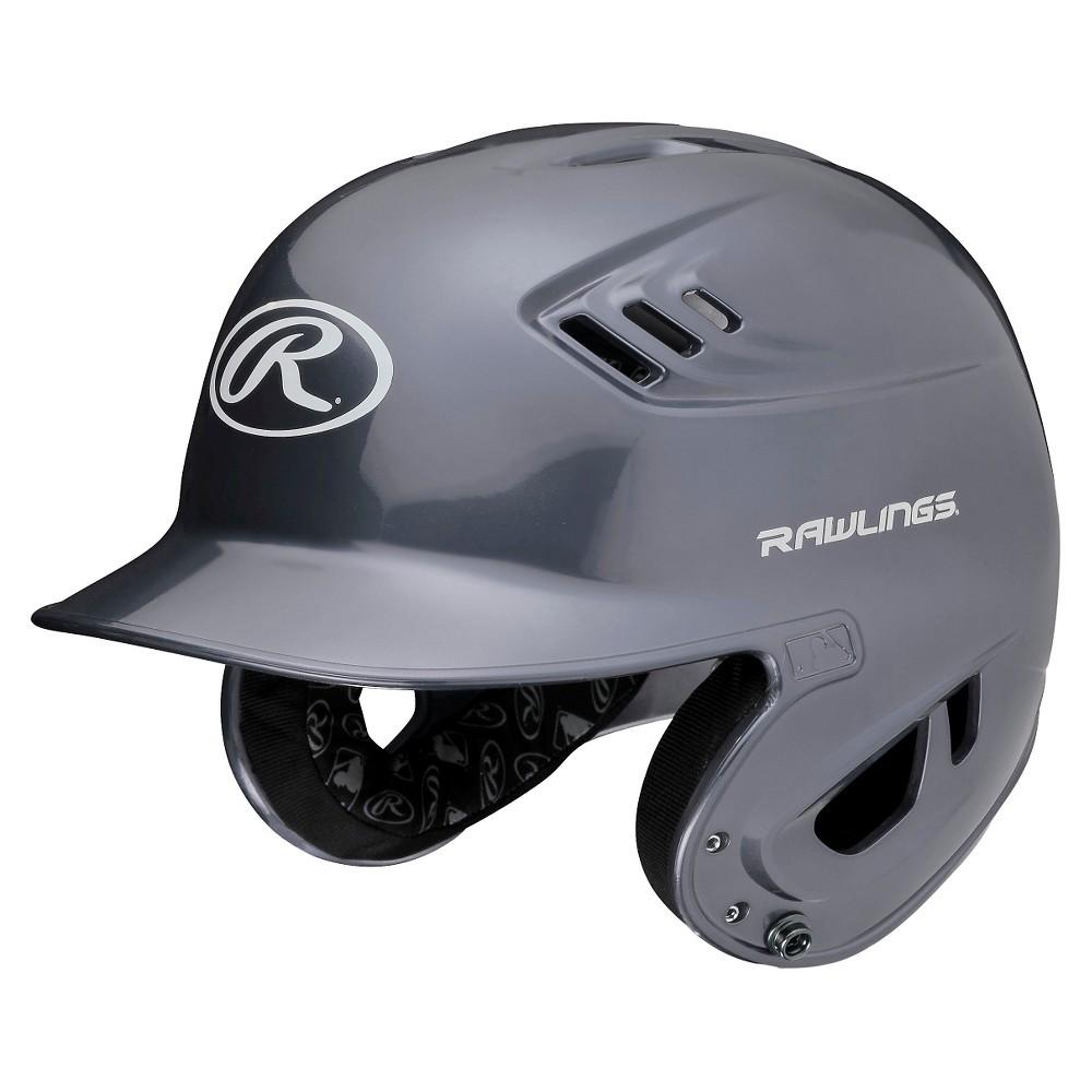 Rawlings R16 Series Metallic Helmet Jr - Silver (6 3/8 - 7 1/8)