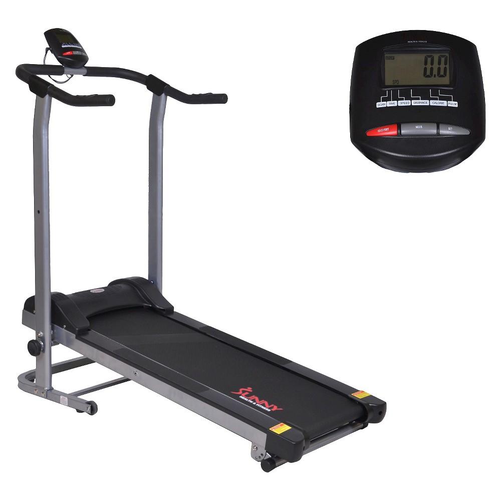 Sunny Health and Fitness (SF-T1408M) Manual Walking Treadmill