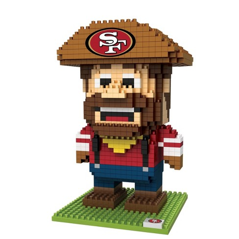 NFL San Francisco 49ers BRXLZ Mascot Figure 1000pc - image 1 of 1