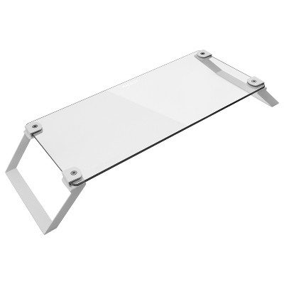 Macally Tempered Glass Computer Monitor Stand Riser
