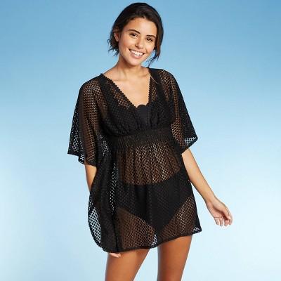 Juniors' Crochet Cut Out Back Cover Up Dress - Xhilaration™