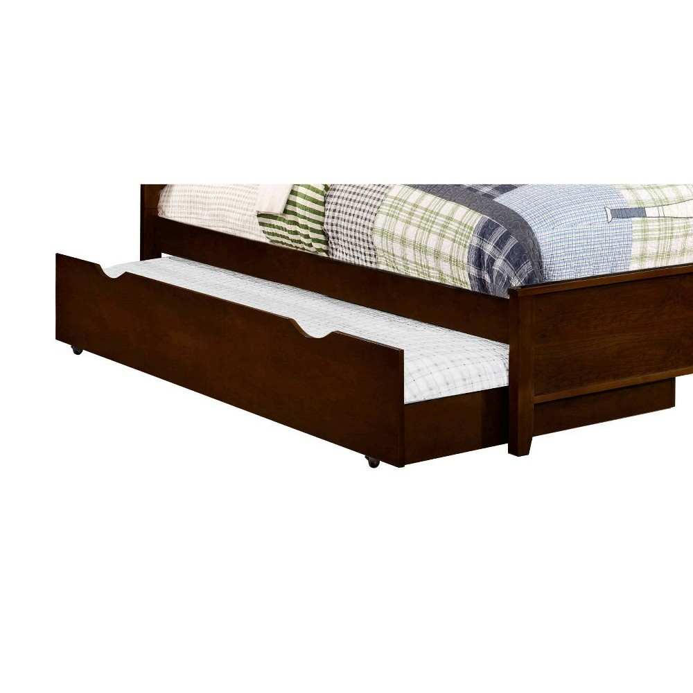 Image of Carrington Trundle Bed (Trundle Only) Cappuccino - Private Reserve, Brown