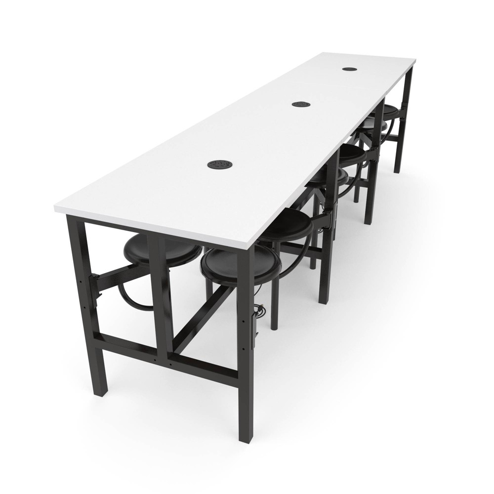 Image of 12 Seat Endure Series Standing Table White Dry Erase Top - OFM