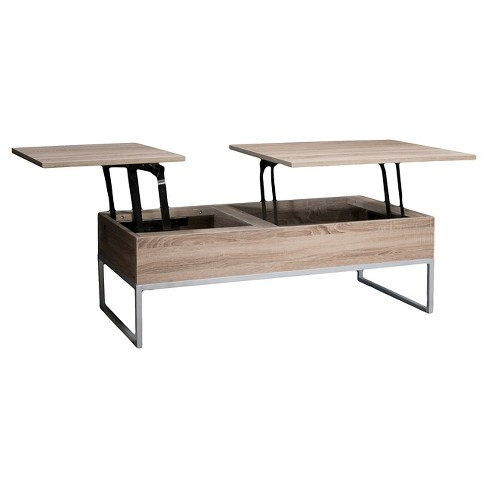 Lift Functional Coffee Table Sonoma Tan Christopher Knight Home