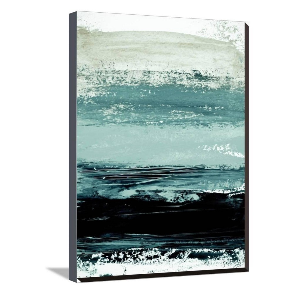 Abstract Minimalist Landscape 4 By Iris Lehnhardt Stretched Unframed Wall Canvas Print 20x27 - Art.com, Multicolored