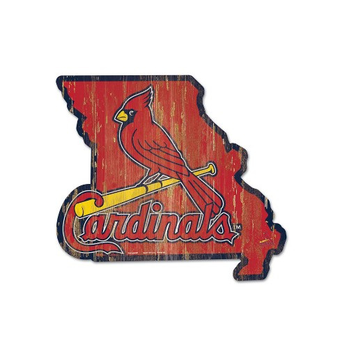 MLB St. Louis Cardinals Wood State Sign - image 1 of 1