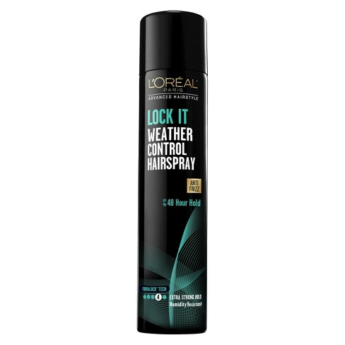 L'Oreal Paris Advanced Hairstyle Lock It Weather Control Hairspray - 8.25oz - image 1 of 2