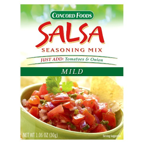 Concord Foods Salsa Seasoning Mix - 1.06oz - image 1 of 1