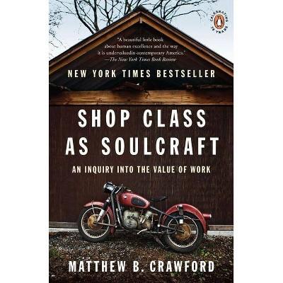 Shop Class as Soulcraft - by  Matthew B Crawford (Paperback)