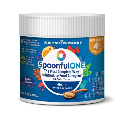 SpoonfulONE Early Allergen Introduction Mix-in for Food and Bottle - 1.62 oz
