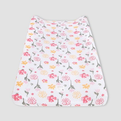 Burt's Bees Baby® Changing Pad Covers - Tulip Blooms