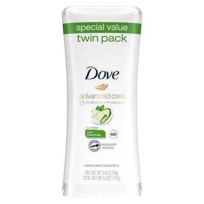 Dove Advanced Care Cool Essentials Antiperspirant & Deodorant - 2.6oz