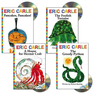 Eric Carle Book and CD - Set of 4