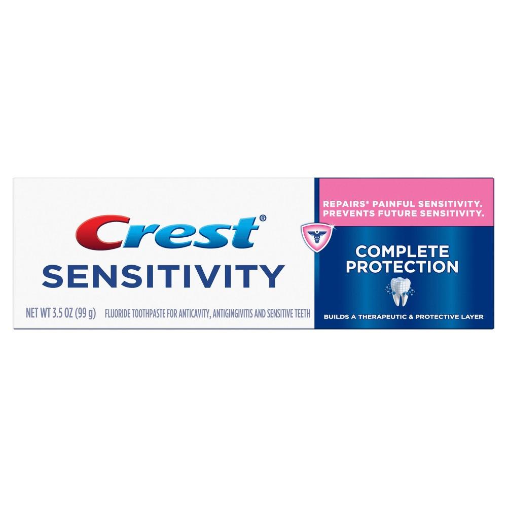 Toothpaste: Crest Sensitivity