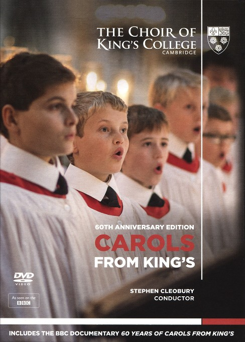 Carols from king's:60th anniversary e (DVD) - image 1 of 1