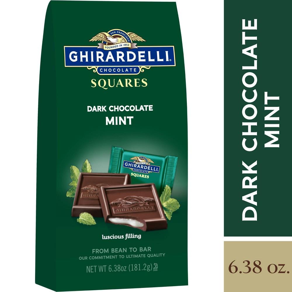 Ghirardelli Dark Chocolate Mint Squares 6 38oz