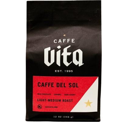 Caffe Vita Caffe Del Sol Espresso Roast Whole Bean Coffee - 12oz