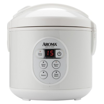 Aroma 8-Cup ( cooked )4-cup (uncooked)Digital Rice Cooker