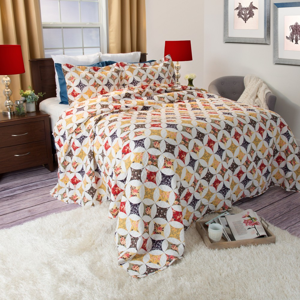 Image of 2pc Twin Cassandra Quilt Set - Yorkshire Home
