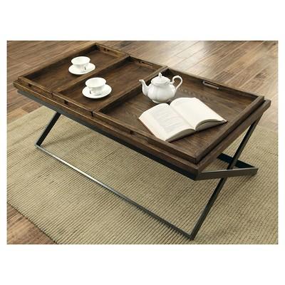 Sun U0026 Pine Coffee Table Warm Oak : Target