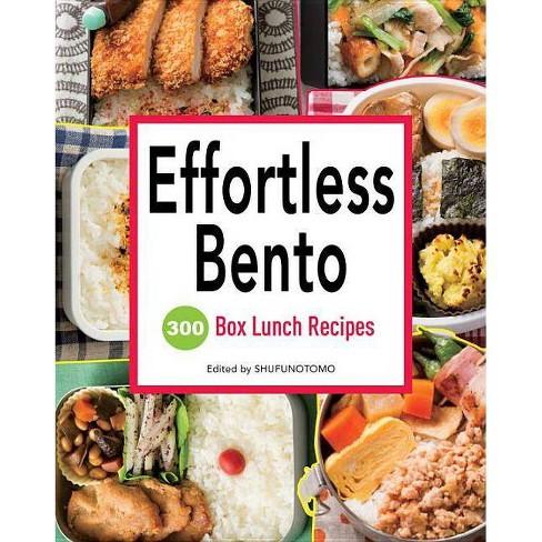 Effortless Bento - (Paperback) - image 1 of 1