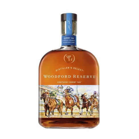 Woodford Reserve Kentucky Derby 146 Bourbon Whiskey - 1L Bottle - image 1 of 1