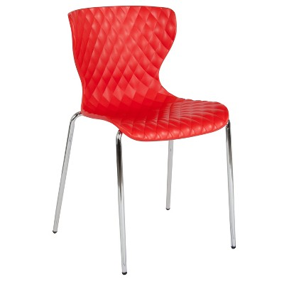 Flash Furniture Lowell Contemporary Design Plastic Stack Chair