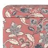 Storage Ottomans Faded Red Floral - Threshold™ - image 3 of 4