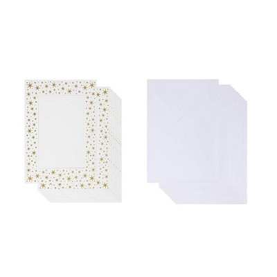 """Best Paper Greetings 36 Pack White 5"""" x 7"""" Photo Insert Greeting Note Cards with Envelopes, 5.5 x 7.75 inches"""