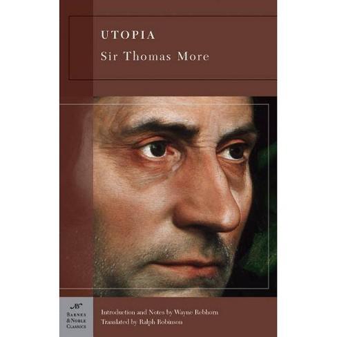 Utopia - (Barnes & Noble Classics) by  Sir Thomas More (Paperback) - image 1 of 1