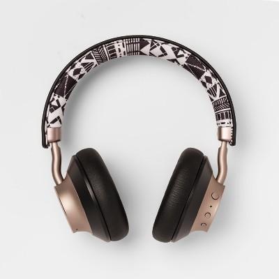 heyday™ Wireless On-Ear Headphones - Black Print/Gold