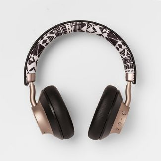 heyday™ Wireless On-Ear Headphones - Black Print/Gold