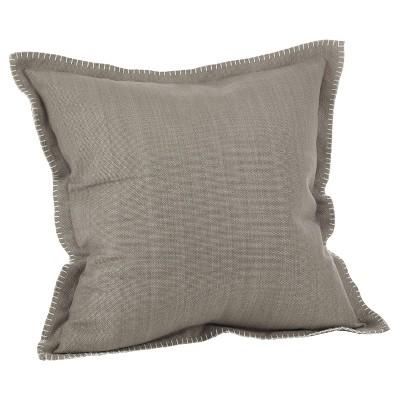 Gray Throw Pillow - Saro Lifestyle