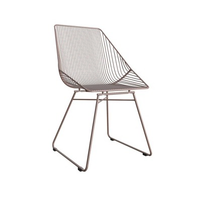 Ellis Modern Metal Accent Chair - Cosmoliving By Cosmopolitan