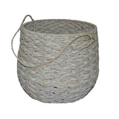 15 x18  Large Round Basket White Washed - Threshold™