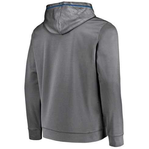 Wholesale Indianapolis Colts Men's Geo Fuse Gray Embossed Performance Hoodie  hot sale