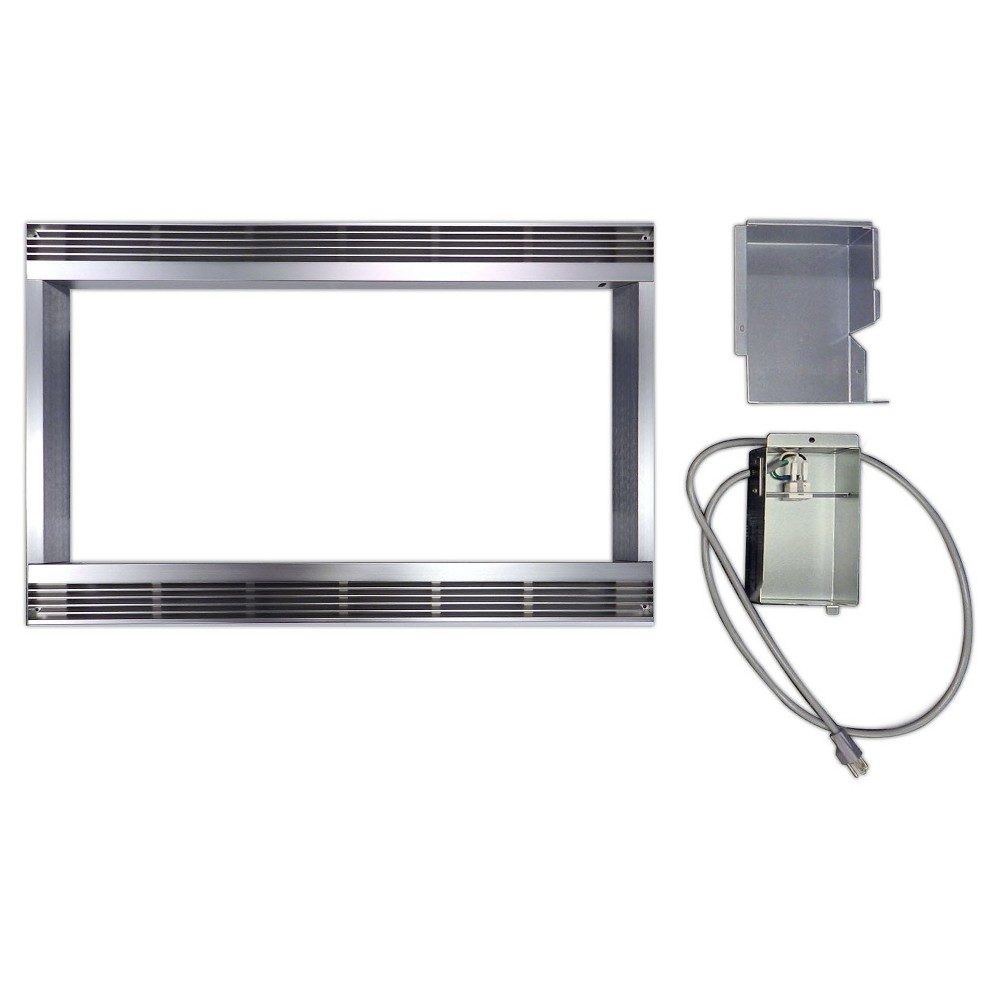 27 Built-in Trim Kit For R651ZS, Silver
