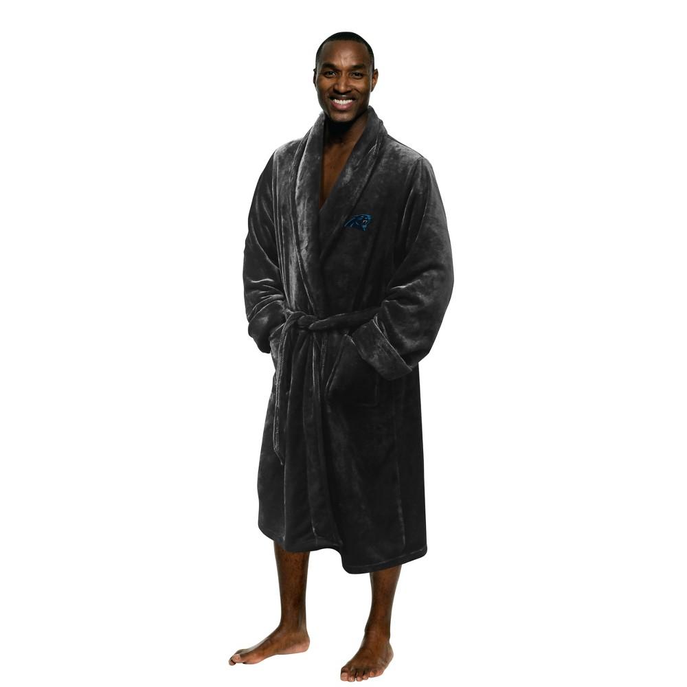 NFL Carolina Panthers Bath Robe, Adult Unisex