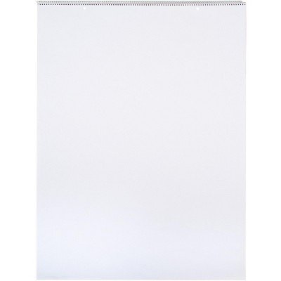 School Smart Chart Paper Pad, 24 x 32 Inches, Unruled, 25 Sheets