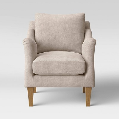 Onley Upholstered Accent Chair Beige - Threshold™