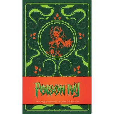 DC Comics: Poison Ivy Hardcover Ruled Journal - by  Insight Editions