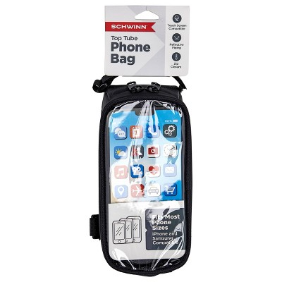 Schwinn Top Tube Bike Phone Bag - Black