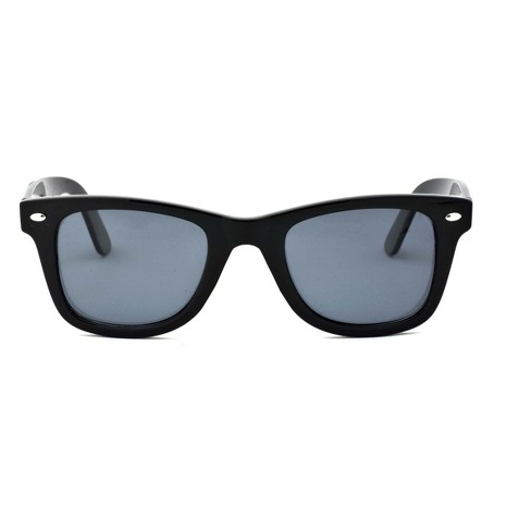 Women's Polarized Surf Shade Sunglasses - A New Day™ Black - image 1 of 1