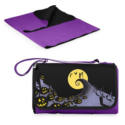 Picnic Time Jack and Sally Blanket - Purple - image 1 of 4